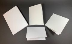 White Matt Card Blanks