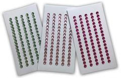 Artwork - 5mm Crystals in Various Colours