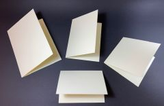 Ivory Matt Card Blanks