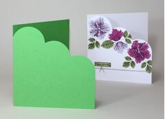 Colorset 270gsm 100% Recycled Cloud Corner Card Blanks