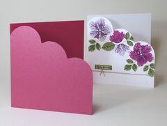 Boutique, Cocktail, Majestic, Precious Pearl, Sirio & Stardream Cloud Corner Card Blanks