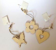 Small Wooden Shapes