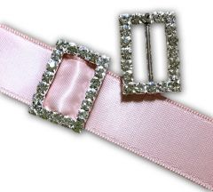 Rectangle Buckle Slider - Small (14mm x 20mm)