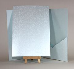 Comet and Precious Pearl Texture 148x210mm A5 Pocketfolds