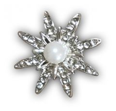 Pearl Star Embellishment (25mm)