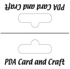 Black Printed Header Cards