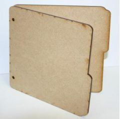 "6"" x 6"" MDF Book Covers"