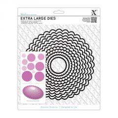 Scalloped Circle - Xcut Extra Large Die
