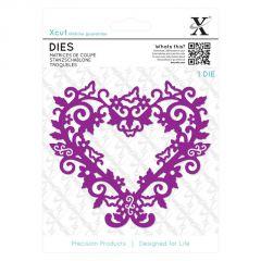 Filigree Heart Frame - Xcut Die