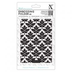 Baroque Leaves  - Xcut A6 Embossing Folder