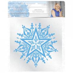 Snow Crystal - Embossing Folder