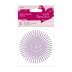2mm - Self Adhesive Stones - Purple