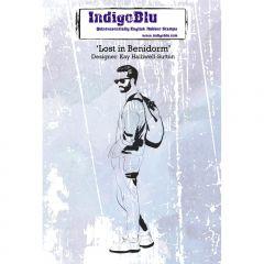 Lost in Benidorm - IndigoBlu Mounted Stamp