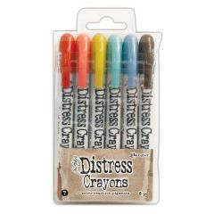 Tim Holtz - Distress Crayons - Set 7