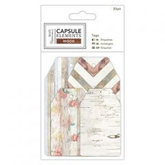 Papermania - Capsule Elements Gift Tags - Pk of 20