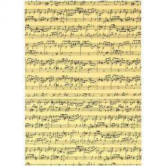 Music Printed Card