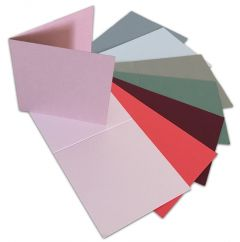 FREE 8 Keaykolour 89x89mm creased cards (Spend over £15)