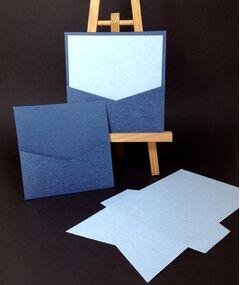 Denim Jeans 250gsm Pocket Cards