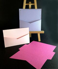 Colorplan 270gsm Linen Pocket Cards
