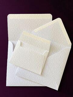 Rives 120gsm Paper HANDMADE Envelopes