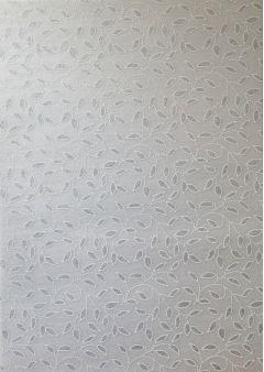 Artoz A4 Handmade Paper - Leaves Silver White
