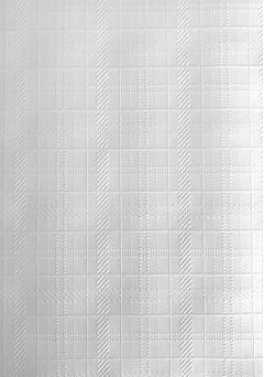 Tartan/Weave - A4 White Embossed Card