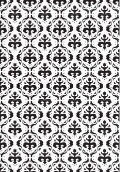 Vintasia - Baroc Background - Embossing Folder (Nellie Snellen)