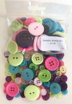 Spangles Button Mix