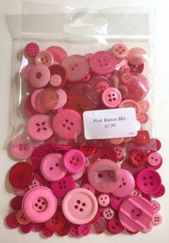 Pink Button Mix