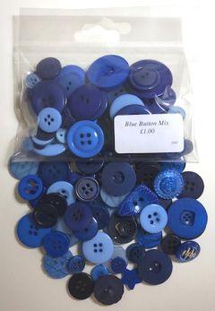 Blue Button Mix