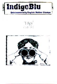 I Spy - IndigoBlu Mounted Stamp
