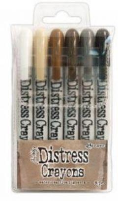 Tim Holtz - Distress Crayons - Set 3