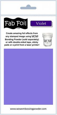 Wow Fab Foil - Violet