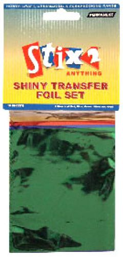 Shiny Transfer Foils - Primary Colours