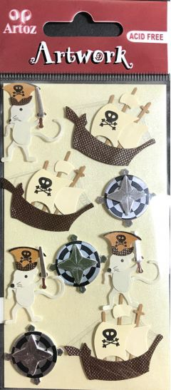 Pirate Mice - Artwork Toppers