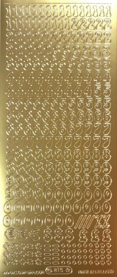 Small Numbers (Peel Offs - Numbers)
