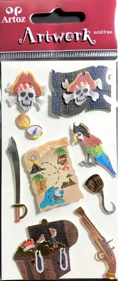 Pirates - Artwork Toppers
