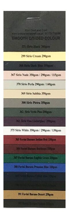 Double Sided Smooth Pro Swatch