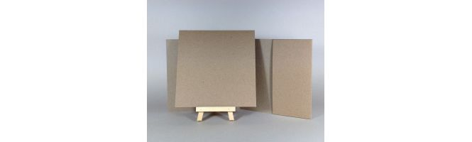 Cairn Natural Kraft Recycled 350gsm 140x140mm POCKETFOLDS