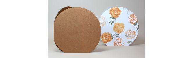 Curious & Stardream Metals Circle Card Blanks