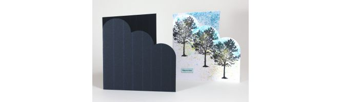 Savile Row 300gsm Cloud Corner Card Blanks