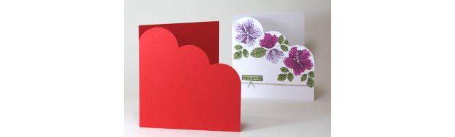 Colorplan 270gsm Cloud Corner Card Blanks