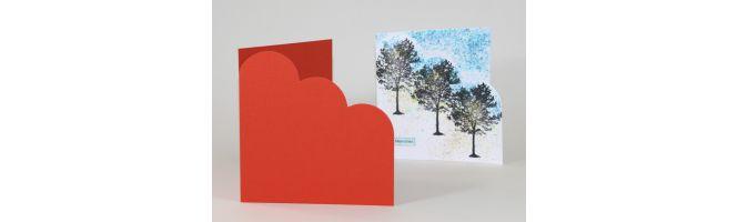 Keaykolour Antique and Sirio Cloud Corner Card Blanks