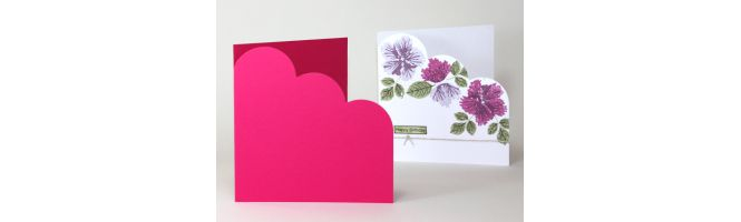 Pop'Set & Vanguard Cloud Corner Card Blanks