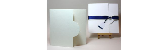 Accent Antique, Fresco and Tintoretto Half Moon Card Blanks