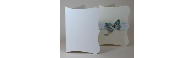 Accent Antique, Fresco and Tintoretto Scroll Card Blanks