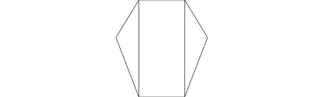 Quality White Arco 300gsm Pointed Gatefold Card Blanks