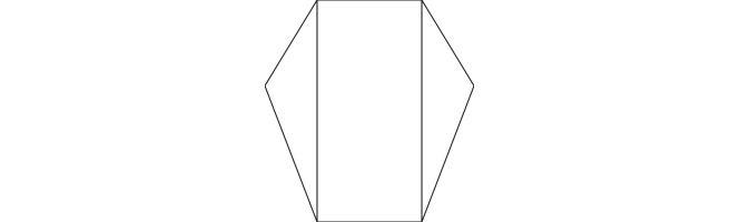 Rib-Tone Kraft Pointed Gatefold Card Blanks