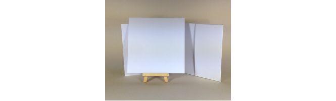 Quality White Arco 224gsm 148x148mm POCKETFOLDS