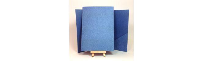 Denim Jeans 250gsm 148x210mm A5 Pocketfolds